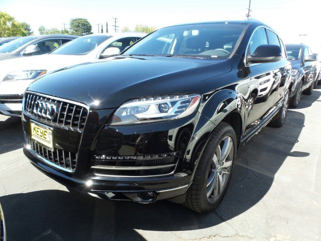 2015 Audi Q7 30L TDI Premium Plus Night BlackBlack Leather V6 30 L Automatic 15 miles  Turbo