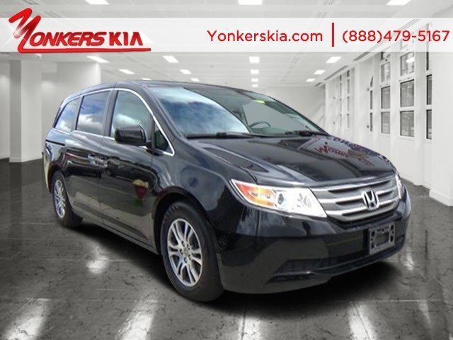 2013 Honda Odyssey EX-L Crystal Black PearlGray V6 35L Automatic 36010 miles Calling all enth