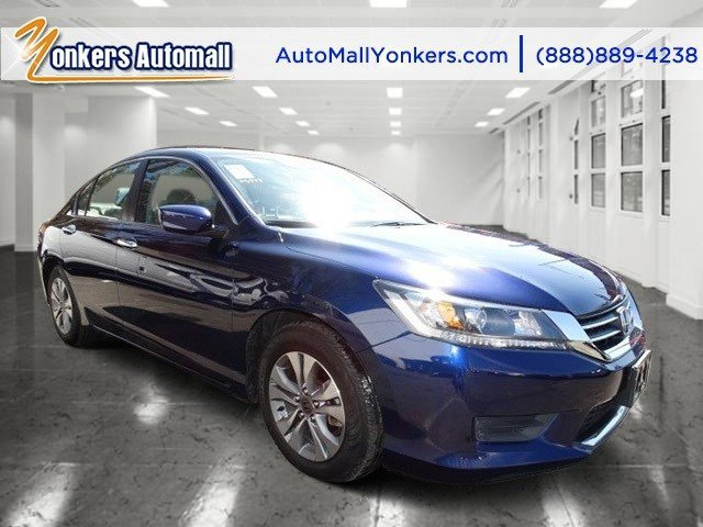 2014 Honda Accord Sedan LX Obsidian Blue PearlGray V4 24 L Automatic 32985 miles  Front Wheel