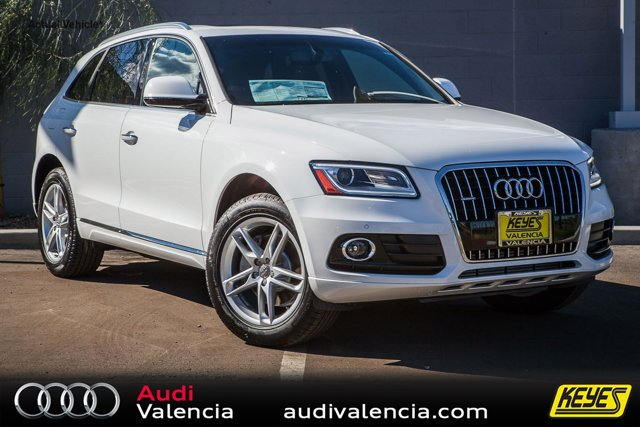 2016 Audi Q5 Premium Plus Ibis WhiteBLACK INTERIOR V6 30 L Automatic 15 miles  Turbocharged
