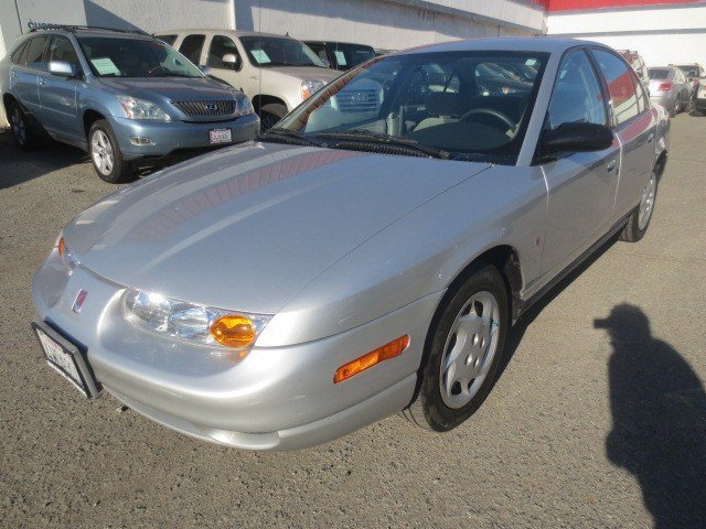 2002 Saturn SL Light SilverGray V4 19L Automatic 108245 miles Local Trade Great Car for that