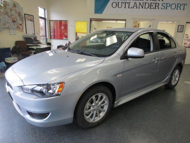 2014 Mitsubishi Lancer ES Apex SilverBlack V4 20 L Automatic 5 miles They are Here The ALL NE