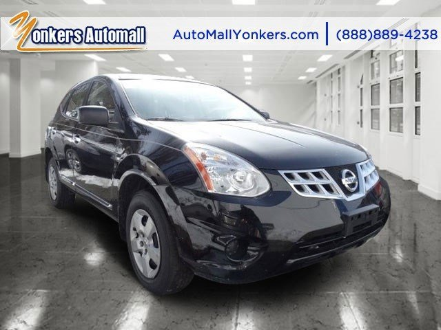 2011 Nissan Rogue S Super BlackGray V4 25L Automatic 40198 miles Yonkers Auto Mall is the prem