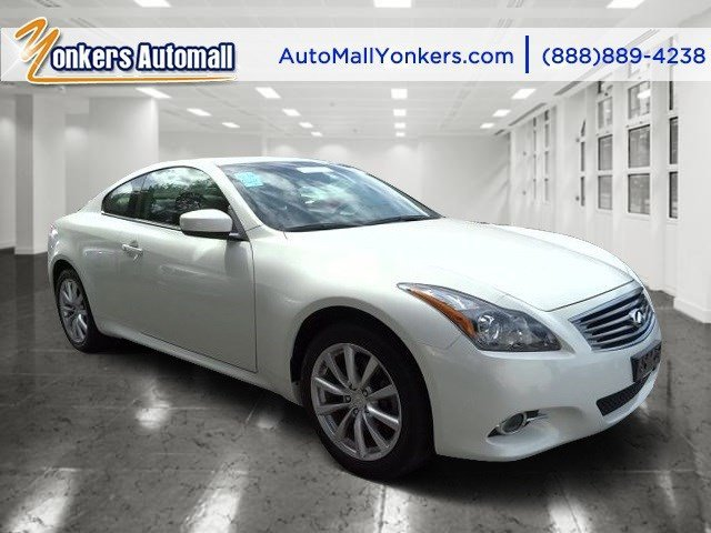 2012 Infiniti G37 Coupe x Moonlight WhiteGraphite V6 37L Automatic 42587 miles  H01 TECHNOL