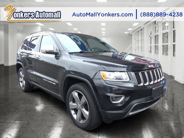 2014 Jeep Grand Cherokee Limited Brilliant Black Crystal PearlcoatBlackLt Frost Beige V6 36 L