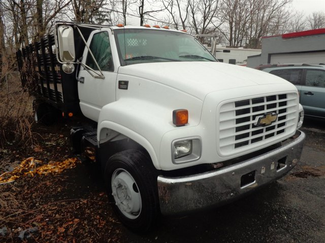 2000 CHEVROLET C5500 C6H042 w CAT Engine WhiteGray V6 72 Manual 56464 miles   Stock 00584