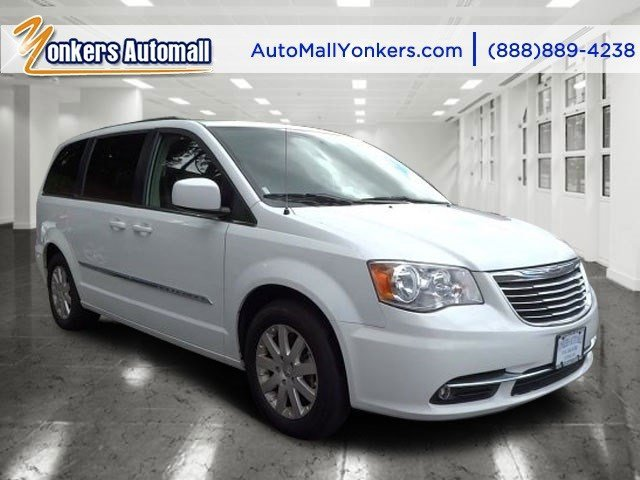 2014 Chrysler Town  Country Touring Bright White ClearcoatBlackLight Graystone V6 36 L Automa