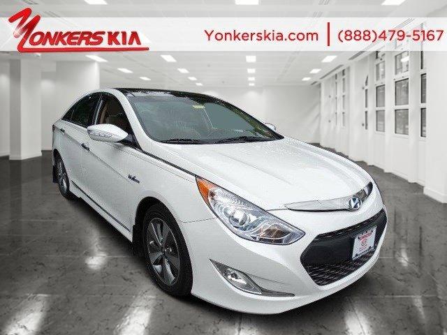 2012 Hyundai Sonata Hybrid Porcelain White PearlCamel V4 24L Automatic 24756 miles Hybrid N