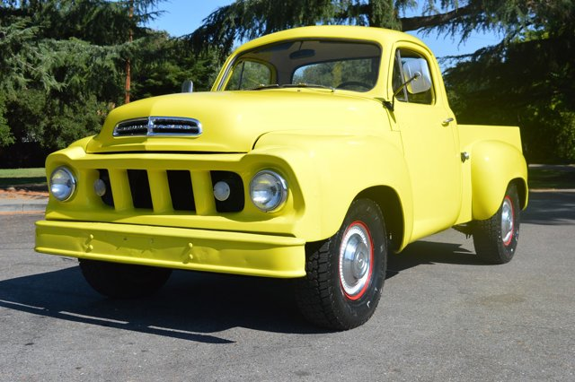1959 Studebaker Truck Gorgeous Pickup Runs Great Yellow V  Manual 0 miles Wow what a beautiful