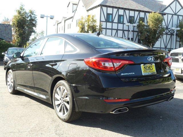 2017 Hyundai Sonata Sport BLACK V4 24 L Automatic 29 miles Keyes Hyundai on Van Nuys is one o