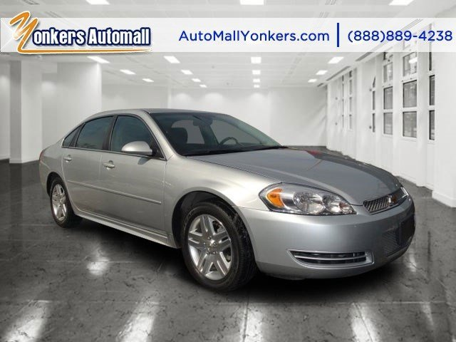 2012 Chevrolet Impala LT Silver Ice MetallicGray V6 36L Automatic 40821 miles Clean carfax T