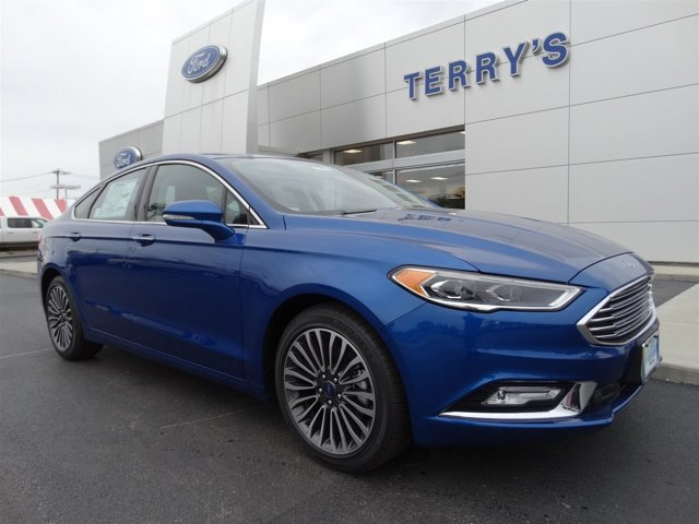 2017 Ford Fusion SE Lightning BlueEbony V4 15 L Automatic 0 miles The newly designed Ford Fus