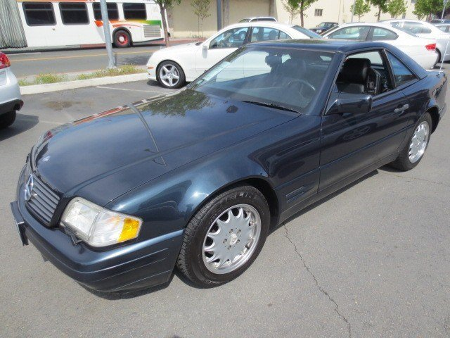 1996 Mercedes SL-Class SL500 Convertible Black OpalBlack V8 50 Automatic 81817 miles SUPER LOW