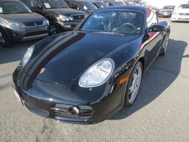 2008 Porsche Cayman S BlackBlack V6 34L Manual 51406 miles LOW MILES NEW ARRIVAL Black on Bl