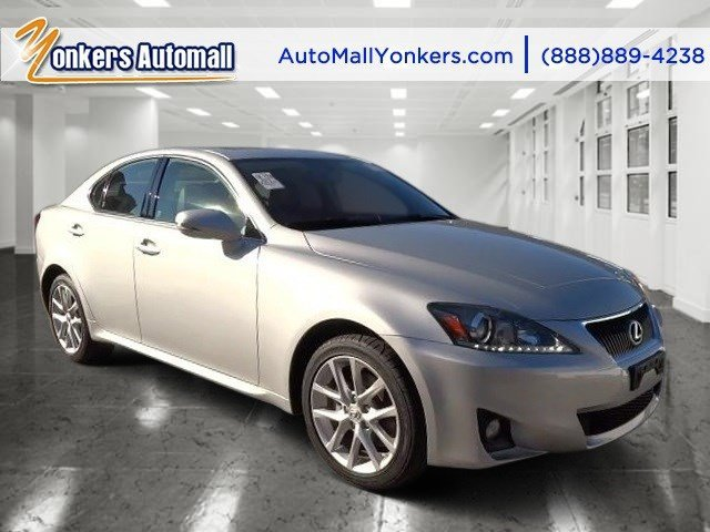 2012 Lexus IS 250 wNavigation Tungsten PearlBlack V6 25L Automatic 30452 miles Navigation N