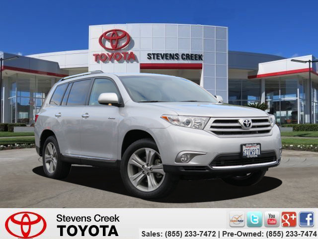 2013 Toyota Highlander Limited SilverGray V6 35L Automatic 57089 miles Schedule your test dri