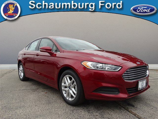 2016 Ford Fusion SE Ruby Red Metallic Tinted ClearcoatEbony V4 25 L Automatic 13 miles  RR AW