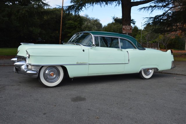 1955 Cadillac Series 62 Green V  Automatic 65935 miles Here we have a 1955 Cadillac coupe Thi