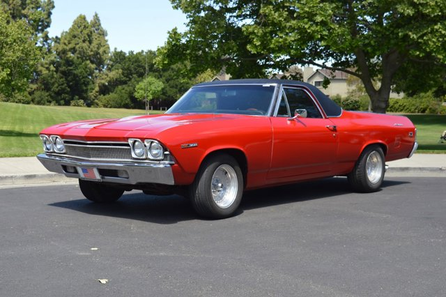 1969 Chevrolet El Camino Red V  Automatic 0 miles Here we have a beautiful looking 1969 El Cam