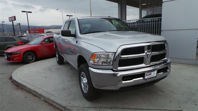 2017 Ram 2500 SLT PS2 Bright Silver Metallic Clear CoatDiesel GrayBlack V6 67 L Automatic 9 m