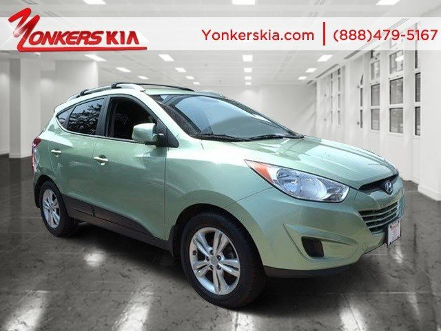 2011 Hyundai Tucson Limited Kiwi GreenBlackSaddle V4 24L Automatic 84800 miles  Front Wheel