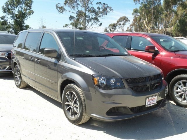 2017 DODGE GR CARAVAN SE C Granite Crystal V6 0 Automatic 10 miles  Front Wheel Drive  Power