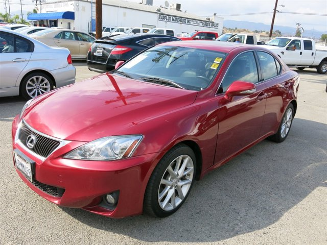 2011 Lexus IS 250 Matador Red Mica V6 25L  57917 miles Choose from our wide range of over 500