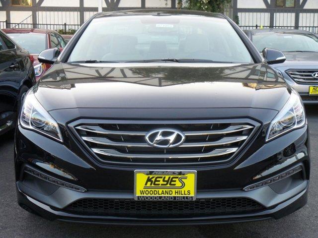 2017 Hyundai Sonata Sport BLACK V4 24 L Automatic 10 miles Keyes Hyundai on Van Nuys is one o