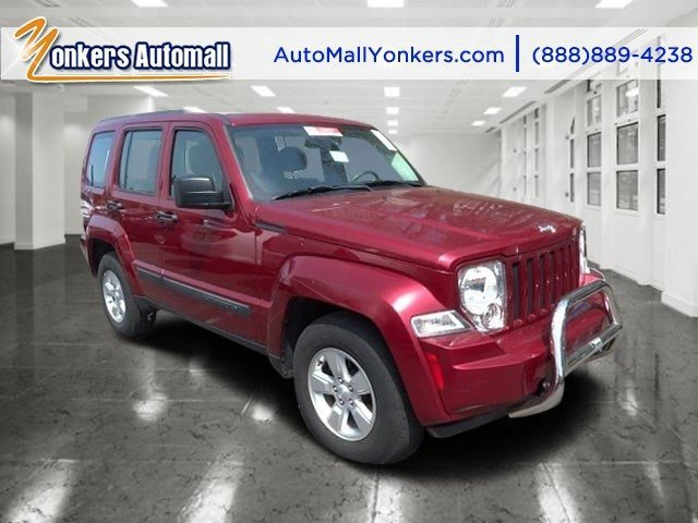 2012 Jeep Liberty Sport Deep Cherry Red Crystal PearlDark Slate Gray Interior V6 37L Automatic