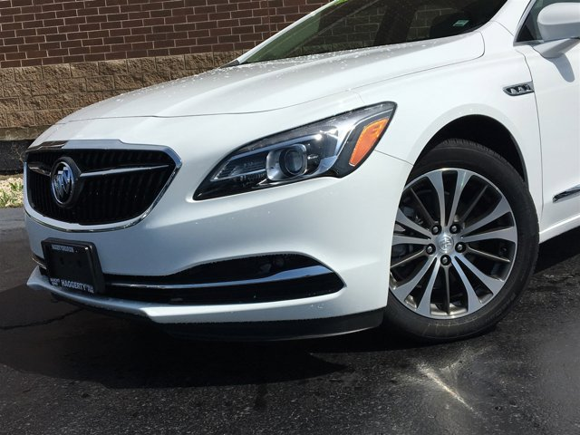 2017 Buick LaCrosse Preferred Summit White V6 36L Automatic 23 miles Priced to sell 1 291