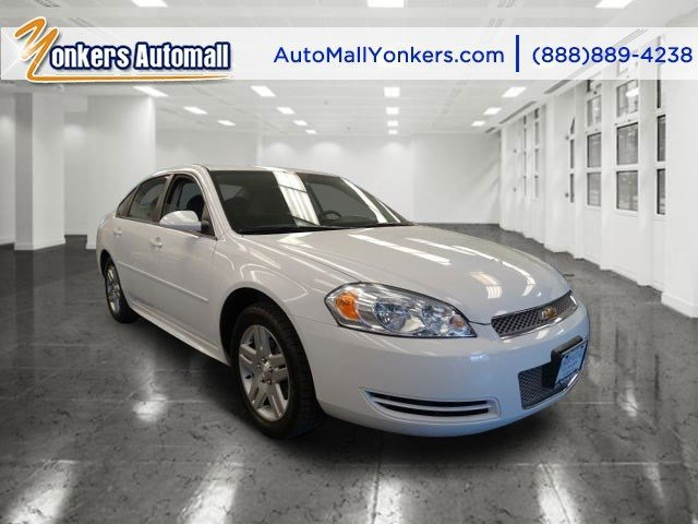 2012 Chevrolet Impala LT Summit WhiteEbony V6 36L Automatic 32030 miles Yonkers Auto Mall is t