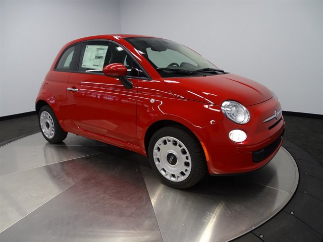 2016 FIAT 500 Pop Rosso RedA7X9 V4 14 L Automatic 0 miles Buy it Try it Love it or Leave
