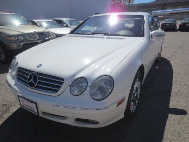 2002 Mercedes CL-Class CL500 Coupe Alabaster WhiteJava V8 50L Automatic 88332 miles LOCAL CAR
