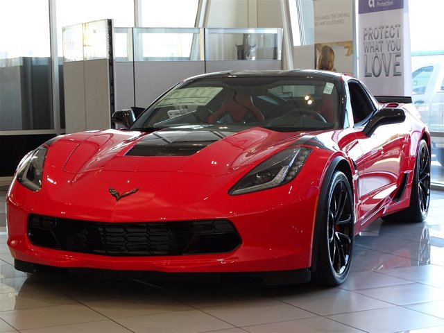 2017 Chevrolet Corvette Grand Sport 2LT Torch RedAdrenaline Red V8 62L Manual 0 miles  WHEELS