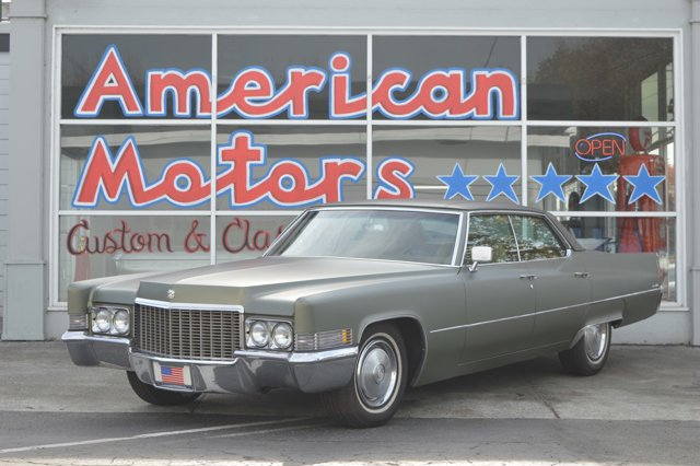 1970 Cadillac Deville GreenGreen V  Automatic 23983 miles   Stock AM4174 VIN B0234436