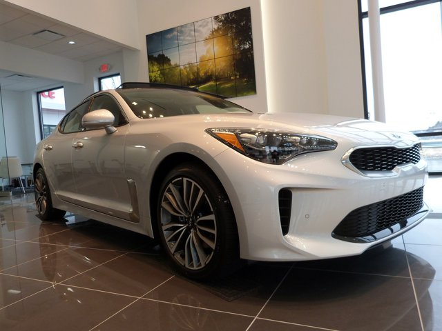 2018 Kia Stinger Premium Silky SilverBlack V4 20L Automatic 20 miles Thank you for your inter