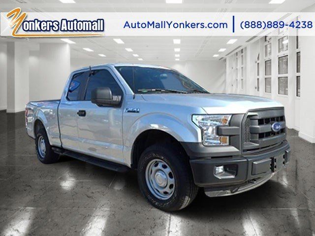 2015 Ford F-150 XL Ingot Silver MetallicMedium Earth Gray V8 50 L Automatic 2047 miles 2015 F