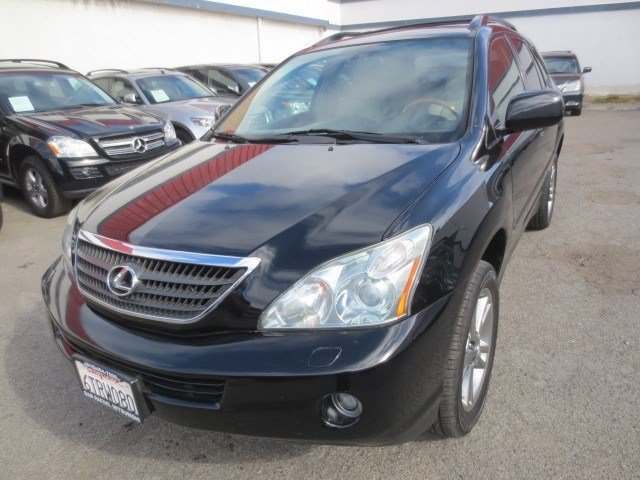 2006 Lexus RX 400h Black OnyxIvory V6 33L Automatic 79238 miles NEW ARRIVAL Beautiful Black O