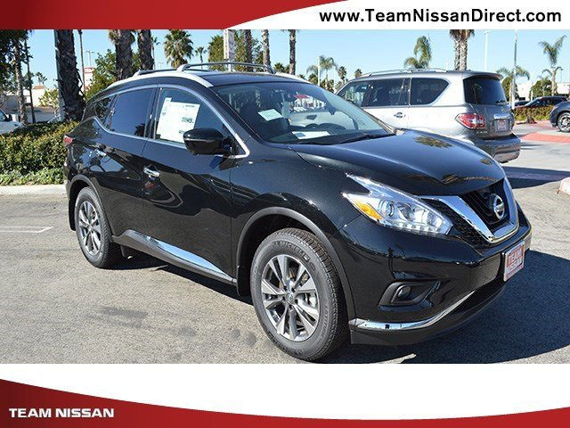 2017 Nissan Murano SL Magnetic Black MetallicGraphite V6 35 L Variable 0 miles  Front Wheel D