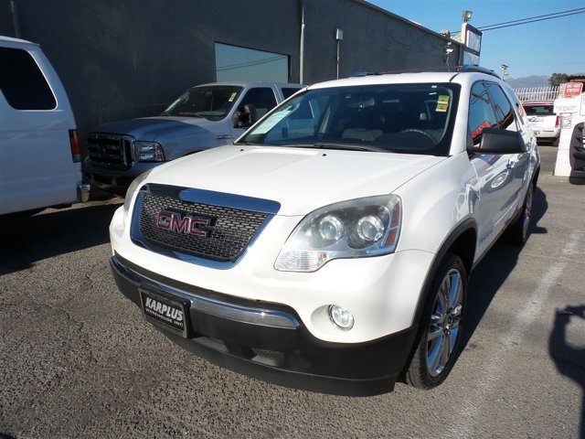 2008 GMC Acadia SLE1 WhiteWHITE V6 36L Automatic 70936 miles Choose from our wide range of ov