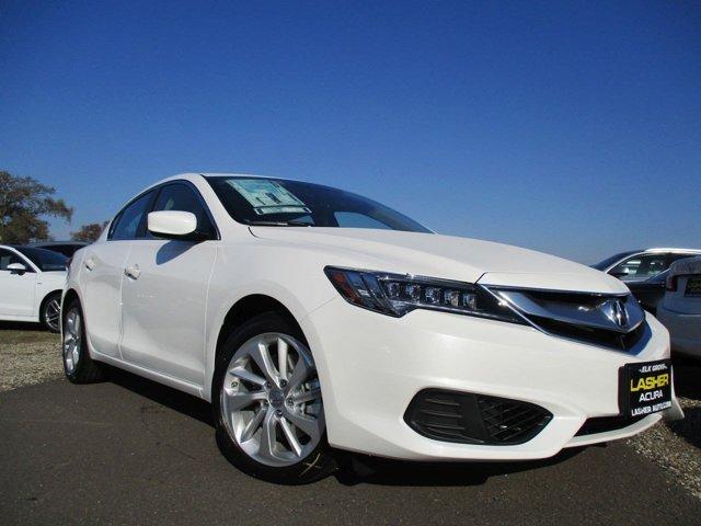 2017 Acura ILX wTechnology Plus Pkg Bellanova WhiteParchment V4 24 L Automatic 5 miles  Fron