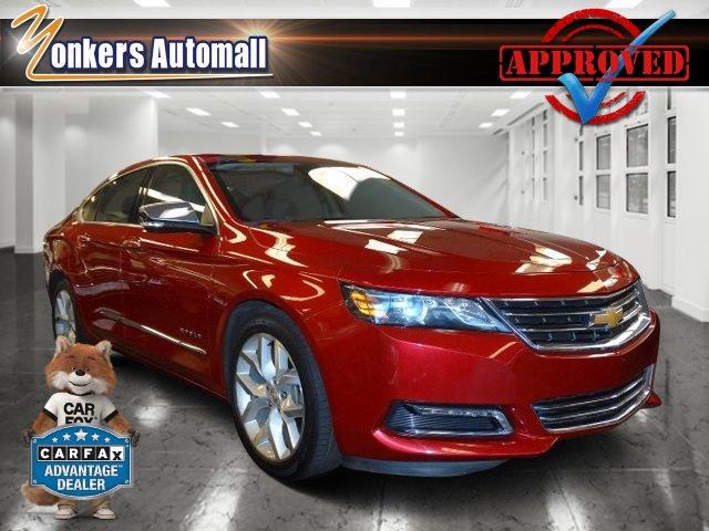 2015 Chevrolet Impala LTZ Crystal Red TintcoatGray V4 25L Automatic 35052 miles Elegantly exp