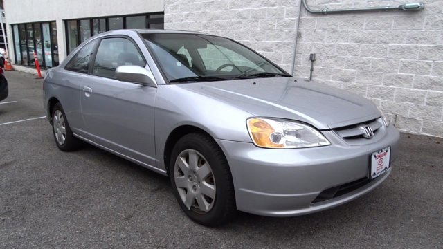 2001 Honda Civic EX Satin Silver MetallicGray V4 17L Automatic 137231 miles  Front Wheel Drive