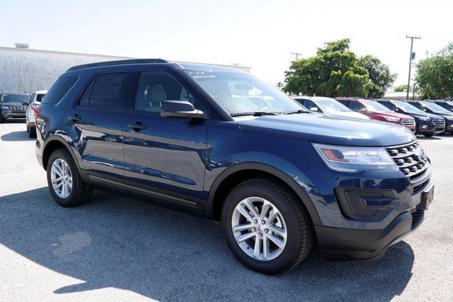 2017 Ford Explorer Base Blue Jeans MetallicMedium Light Camel V4 23 L Automatic 10412 miles 2
