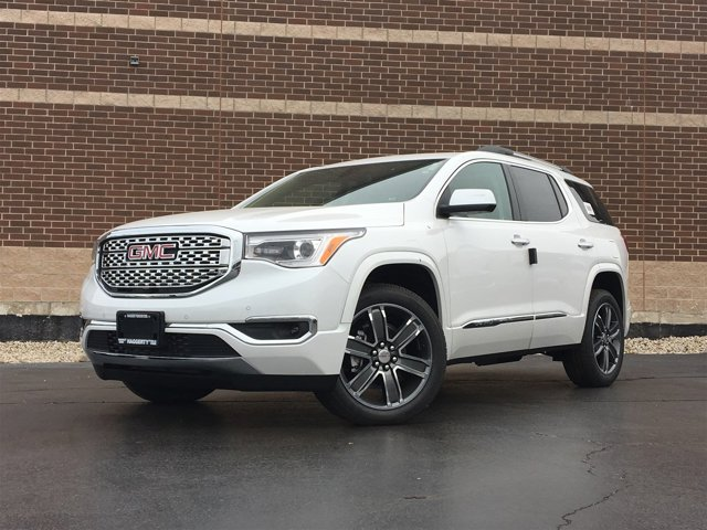 2017 GMC Acadia Denali White Frost TricoatCOCOASHALE PERF LTH V6 36L Automatic 10 miles Intr