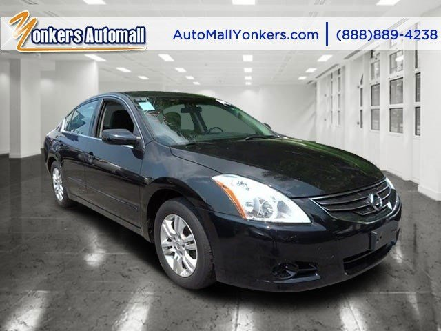 2012 Nissan Altima 25 S Super BlackCharcoal V4 25L Automatic 47712 miles 1 owner clean carf