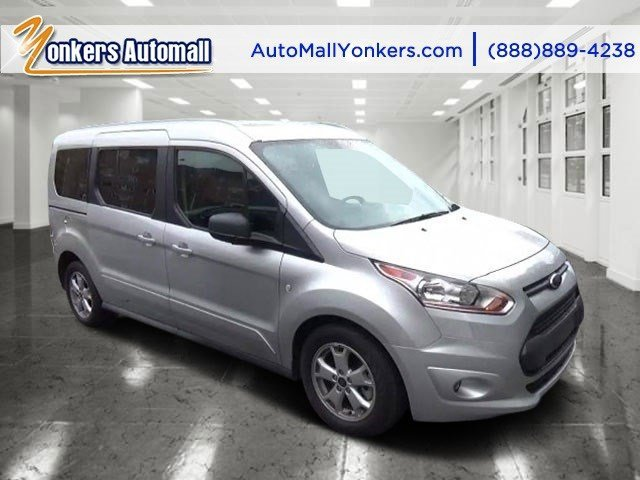 2016 Ford Transit Connect Wagon XLT Silver MetallicMedium Stone V4 25 L Automatic 7380 miles