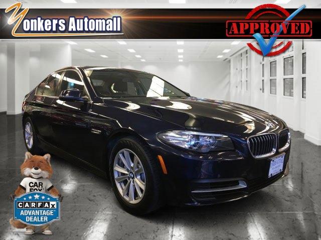 2014 BMW 5 Series 528i xDrive Imperial Blue MetallicBrown V4 20 L Automatic 44816 miles Navig