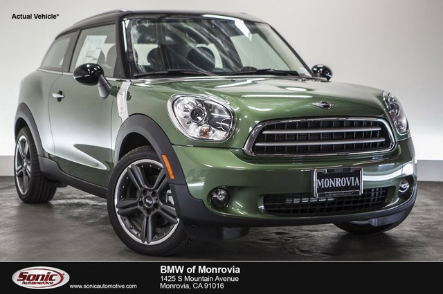 2015 MINI Cooper Paceman FWD 2dr Jungle Green MetallicCarbon Black V4 16 L Automatic 0 miles