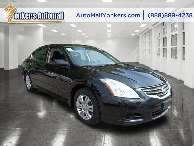 2012 Nissan Altima 25 S Super BlackCharcoal V4 25L Automatic 38848 miles 1 owner clean carf